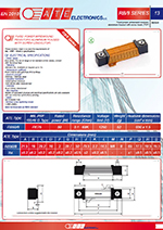 heatsink cooled resistors