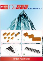 General brochure power resistors ATE Electronics